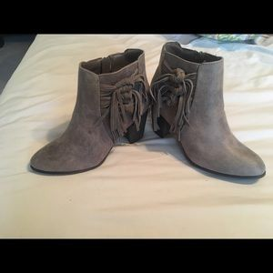 Brand new with tag Grey/taupe booties!